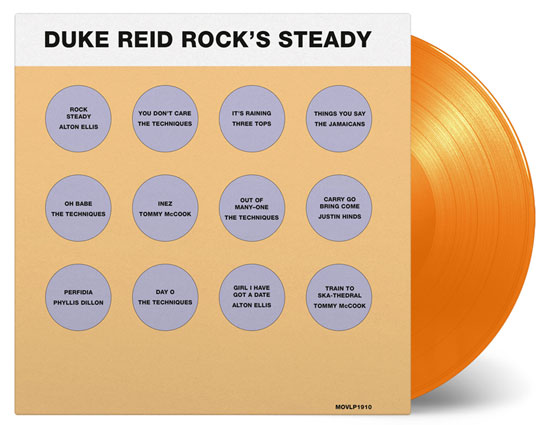 50th anniversary Reissue: Duke Reid Rock's Steady on heavyweight vinyl