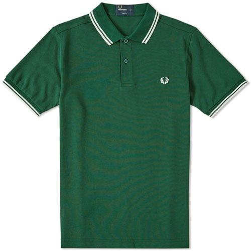 Mod classics: New Fred Perry slim-fit polo shirts now available