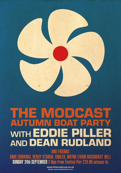 The Modcast Autumn Boat Party 2017