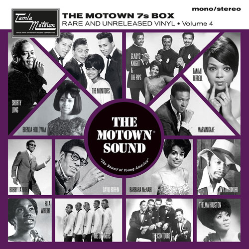 Coming soon: The Motown 7s Vinyl Box Volume 4