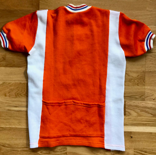 Vintage spotting: 1960s cycling shirts at Ham Yard Vintage