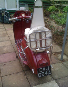 Italian 1960 Lambretta 125 LI S2 scooter on eBay