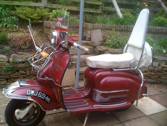 Italian 1960 Lambretta 125 LI S2 scooter on eBay
