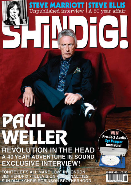 Shindig! magazine goes mod with Weller and Marriott