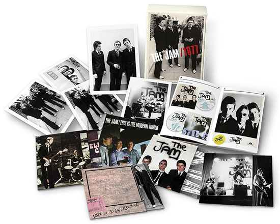Coming soon: The Jam - 1977 box set (Universal)