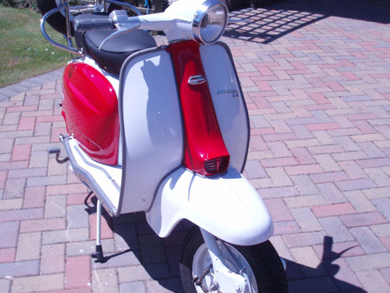 1963 Lambretta Li 125 S3 scooter on eBay