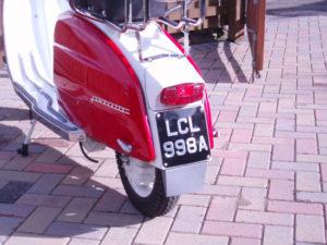 1963 Lambretta Li 125 S3 scooter on eBay