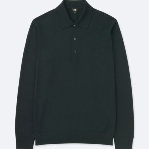 On a budget: Three-button Merino wool polo shirts at Uniqlo