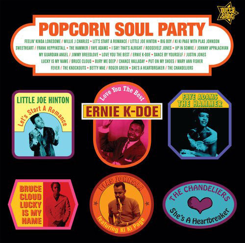 Popcorn Soul Party - Blended Soul And R&B 1958-62 vinyl