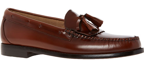 Bargain spotting: GH Bass loafers at TK Maxx online