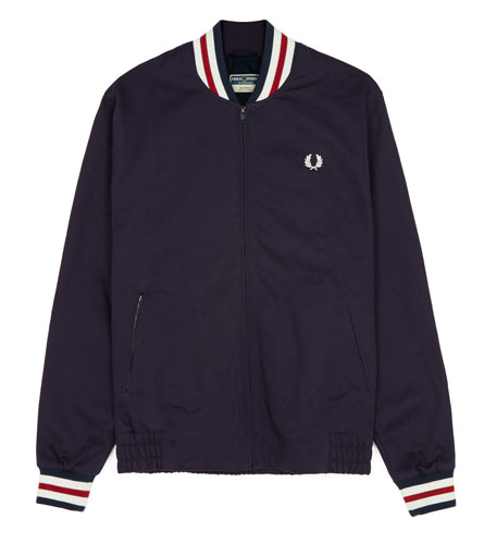 Fred Perry Original Tennis Bomber returns in navy blue