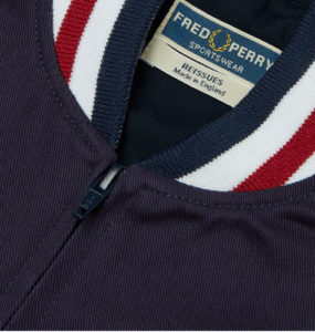 Fred Perry Reissues Made in England Original Tennis Bomber returns in navy blue