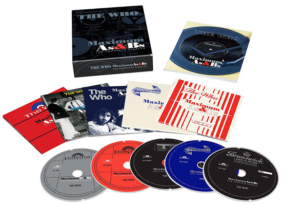 Coming soon: The Who - Maximum As & Bs box set