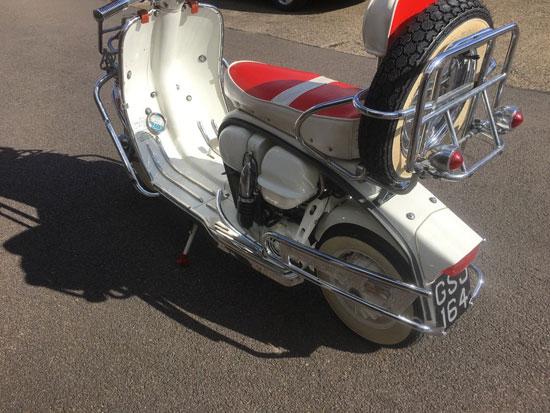 Fully restored 1962 Lambretta TV175 scooter on eBay