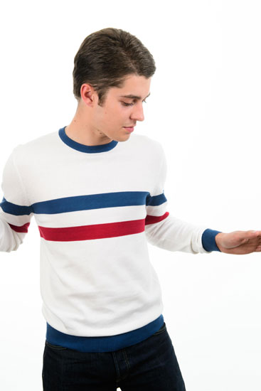 Style Scene Knitted Crew Neck  100% Cotton   £59