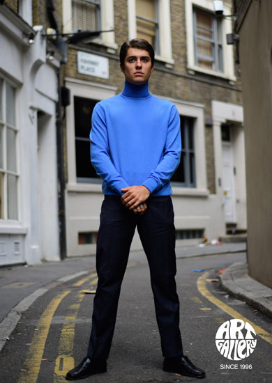 Style Curtis Knitted Roll Neck 100% Merino Wool £69