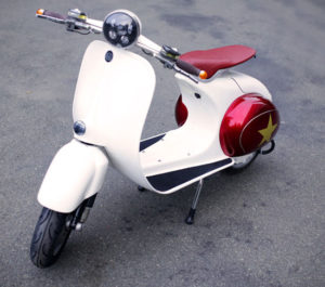 Coming soon: Buzz 1 vintage-style electric scooter