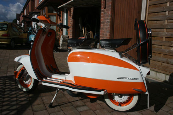 Restored 1962 Italian Lambretta LI 150 on eBay