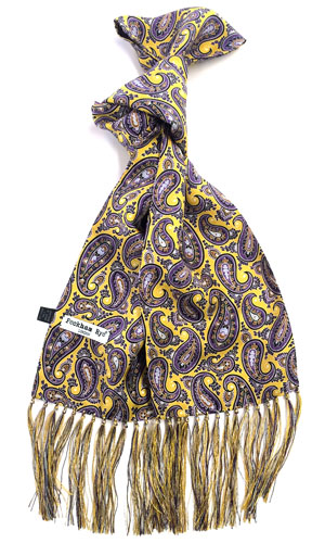 Hand crafted silk scarves by Peckham Rye