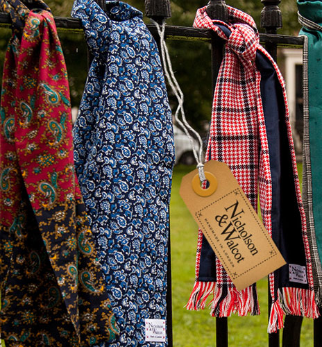 Nicholson and Walcot scarves