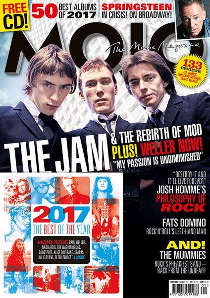 The Jam head up the new Mojo magazine