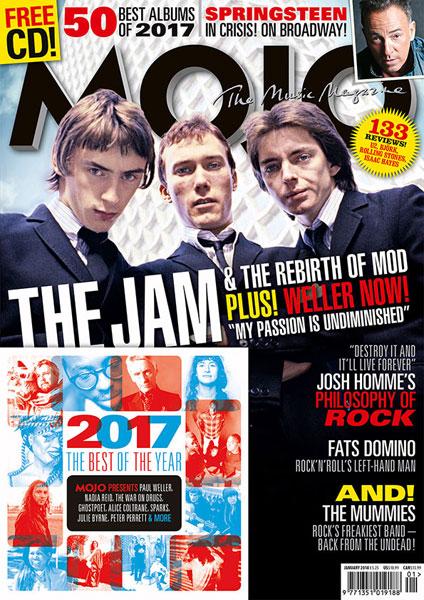 The Jam head up the new Mojo magazine
