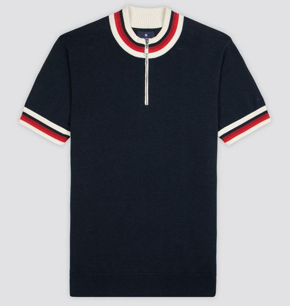 Ben Sherman cycling-inspired polo shirt