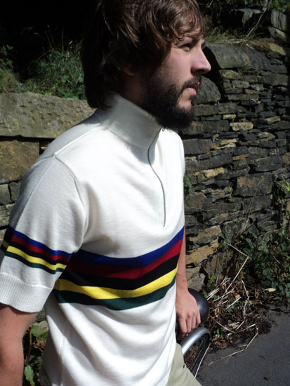 Spitfire limited edition handmade cycling shirts