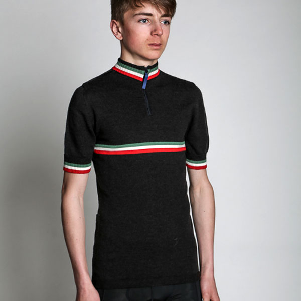 The Italian cycling jersey by Jura Cycle Clothing
