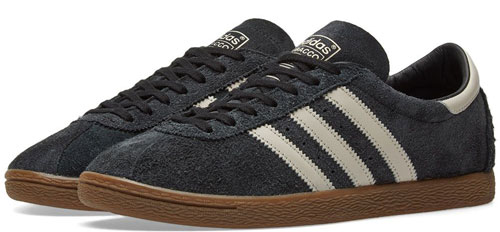 Reissue: Adidas Tobacco trainers land in black and brown