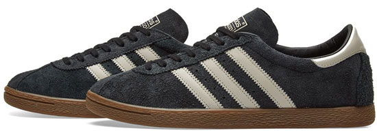 Archive reissue: Adidas Tobacco trainers land in black and brown