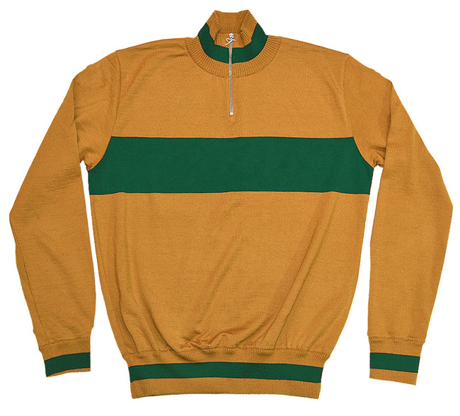 Vintage-style cycling tops by Tiralento