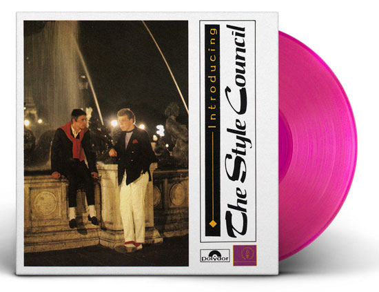 15. Style Council coloured vinyl reissues