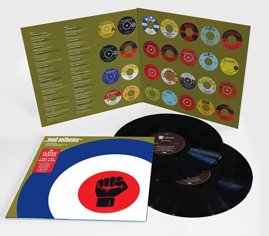 20. Mod Anthems compilation gets a limited edition vinyl issue