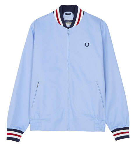 Fred Perry Original Tennis Bomber now in sky blue