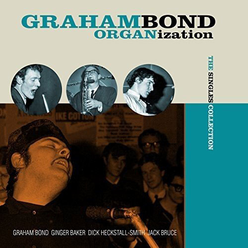 The Graham Bond Organization heavyweight vinyl reissues