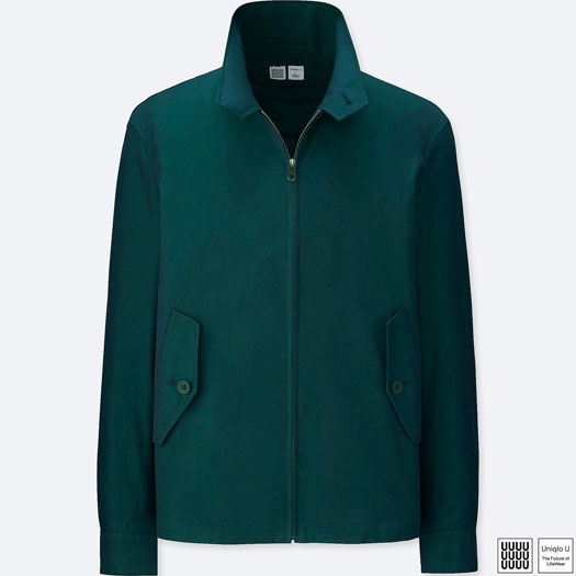 Uniqlo G4-style Harrington Jacket now available