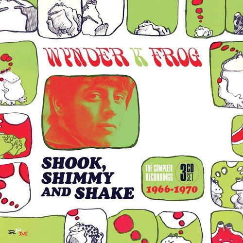 Wynder K Frog – Shook, Shimmy and Shake box set (RPM)