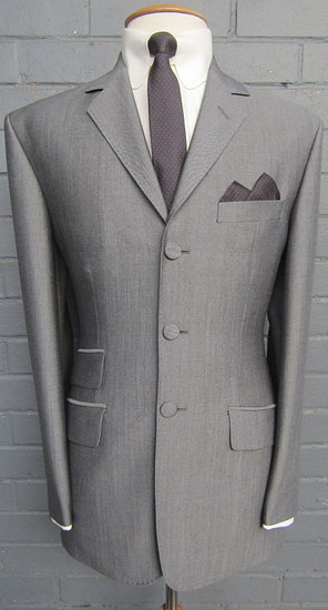Focus on: Adam of London mod suits and shirts