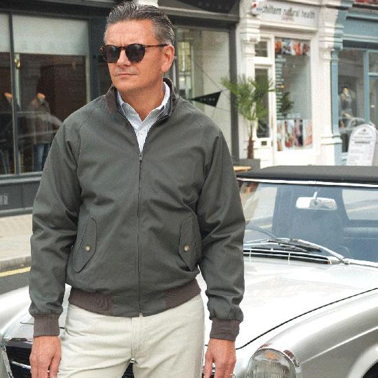 John Simons Harrington Jacket