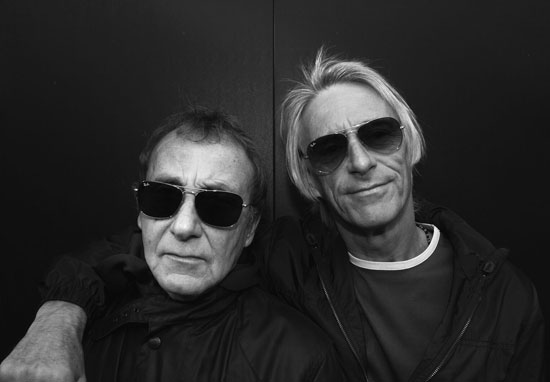 Steve Ellis and Paul Weller