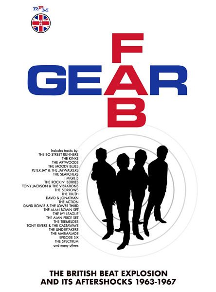 Fab Gear: The British Beat Explosion 1963-1967 Box Set