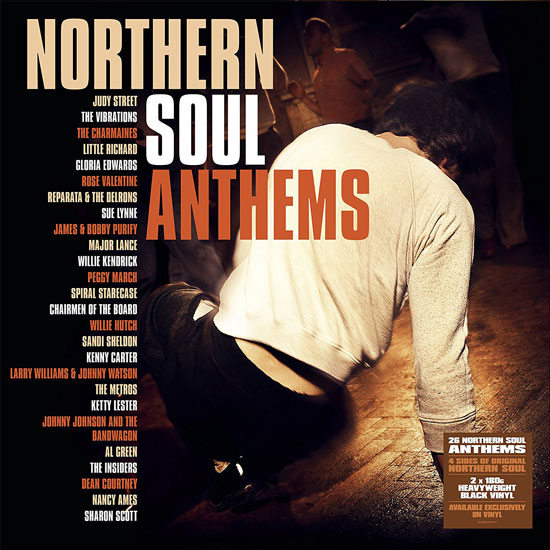 Coming soon: Northern Soul Anthems heavyweight vinyl (Demon)