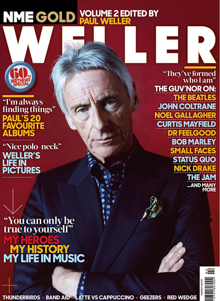 NME Gold: Paul Weller magazine out now