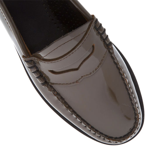 Bargain spotting: Bass Patent Leather Penny Loafers at TK Maxx