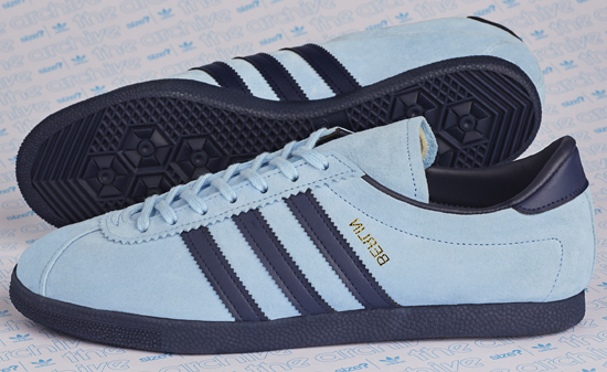 Adidas Archive Berlin OG trainers now in a sky blue finish