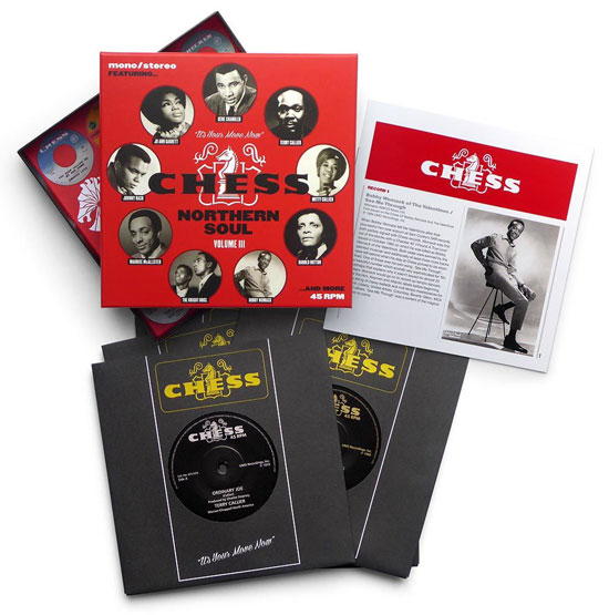 Chess Northern Soul Volume 3 vinyl box set
