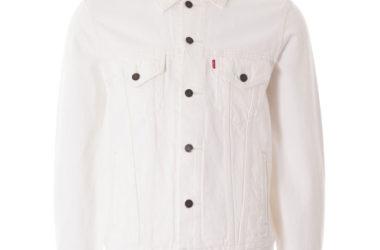 Classic Levi's denim jacket in white returns