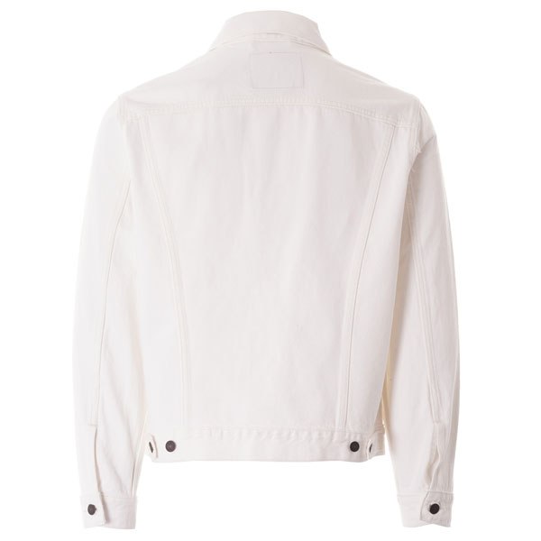 Classic Levi's denim jacket in white returns