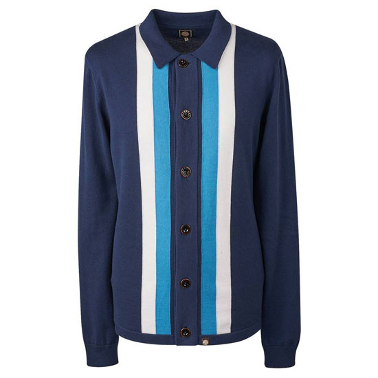 1960s-style knitted shirts at Pretty Green